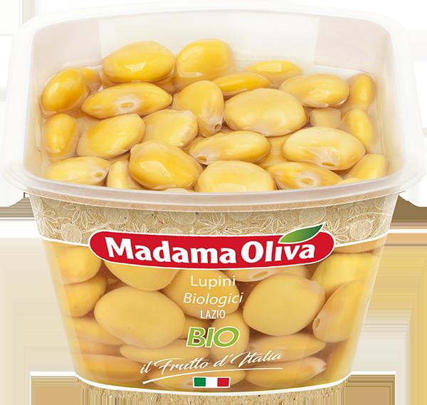 Lupini-Biologici Lazio-Frutto-d'Italia-Madama-Oliva