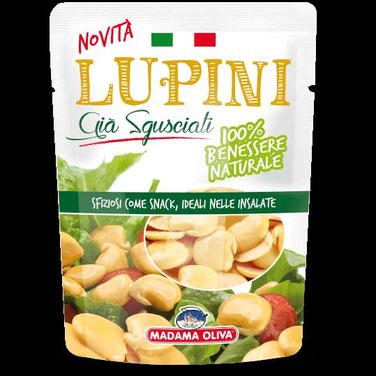 Lupini-sgusciati-linea-snack-di-olive-Madama Oliva