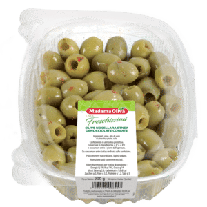 Olive Nocellara Etnea Denocciolate Condite Linea Freschissimi Madama Oliva
