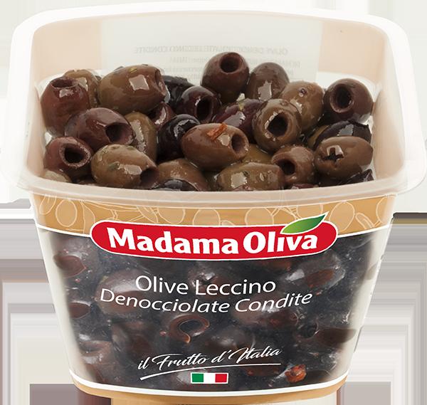 Olive-Leccino-denocciolate-condite-Frutto-dItalia-Madama-Oliva