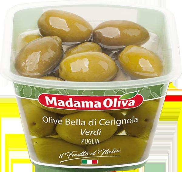 Olive-Bella-di-Cerignola-verdi-Frutto-dItalia-Madama-Oliva