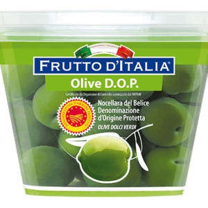 Olive-Nocellara-del-Belice-D.O.P.-dolci verdi-Frutto-dItalia-Madama-Oliva