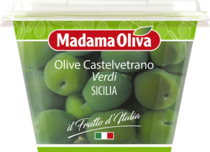 Olive-Castelvetrano-verdi-Sicilia-Frutto-d'Italia-Madama-Oliva