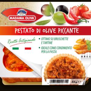 Pestato-di-Olive-Piccante-linea-pestati-Madama Oliva