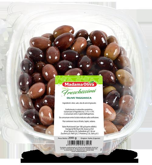 Olive taggiasca Linea Freschissimi Madama Oliva