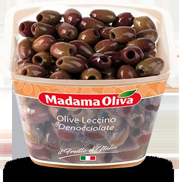 Olive Leccino Denocciolate Linea Frutto Madama Oliva